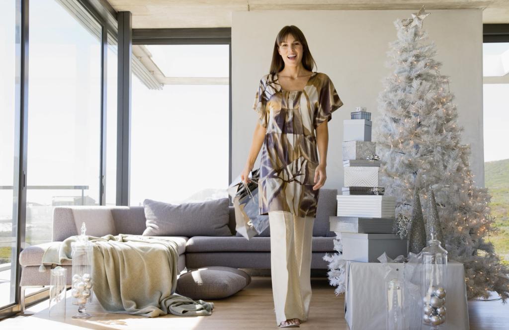 Un albero bianco è l'ideale per una casa moderna