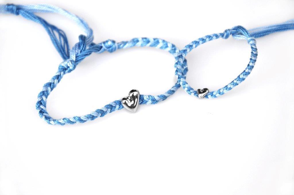 I gioielli di BeA, collezione i Doppi. Oggetto grande e piccolo a significare i legami indissolubili come tra madre e figlio/a