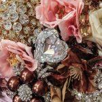 Dettaglio bouquet gioiello