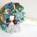 Bouquet gioiello di Florio Design, via Esty.