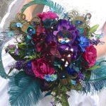 Bouquet gioiello di Ivyndell, via Etsy.