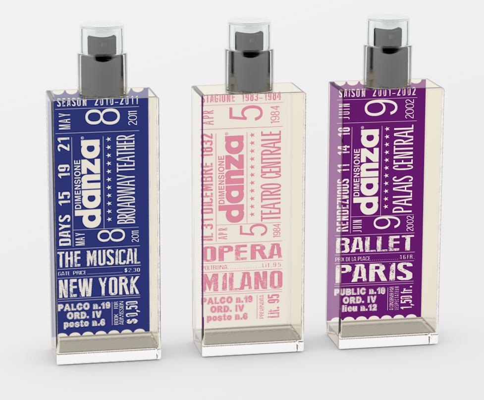 Dimensione Danza lancia le fragranze Ballet, The Musical e Opera