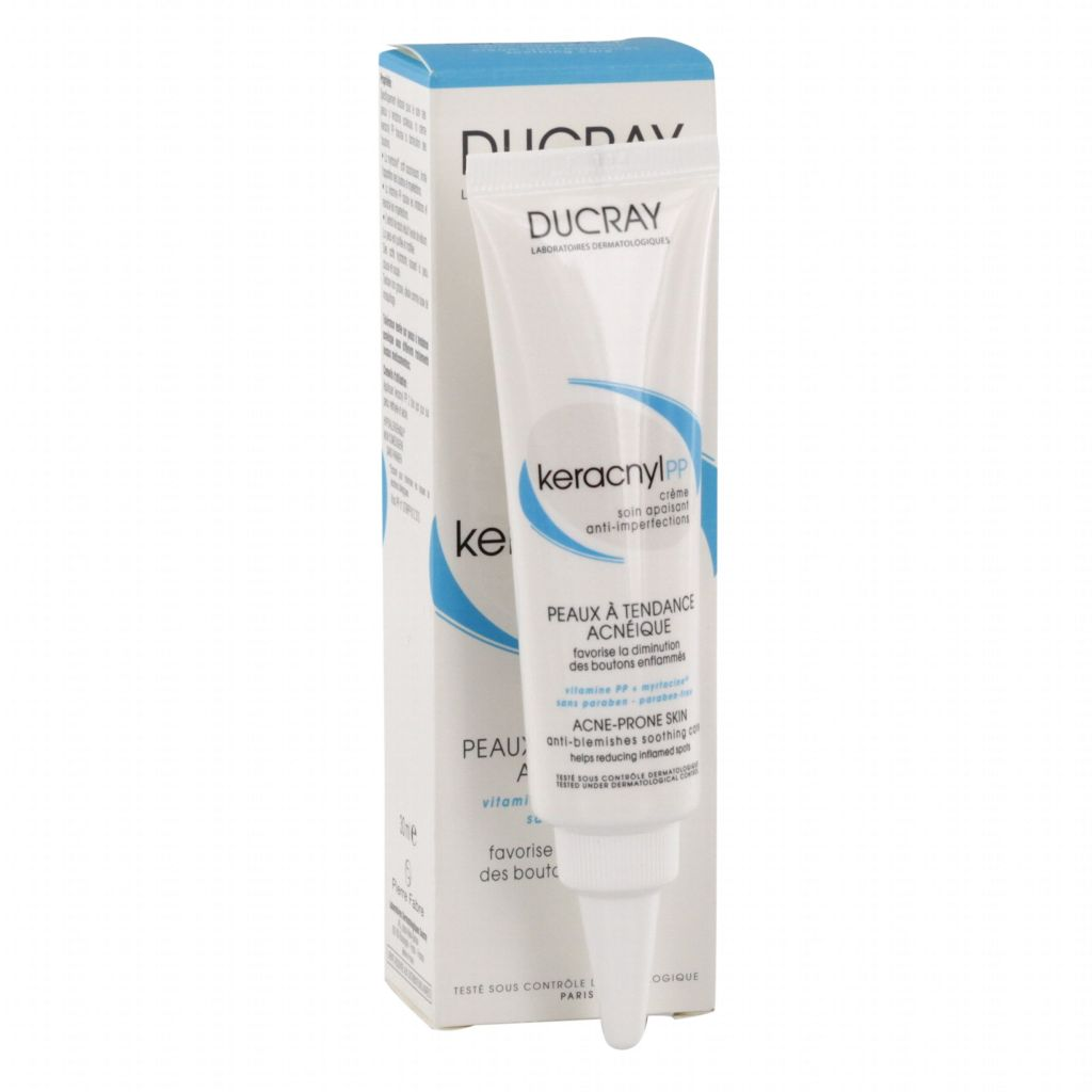 Ducray KERACNYL PP può essere utilizzata quotidianamente per rigenerare la pelle ed evitare la ricomparsa dei brufoli