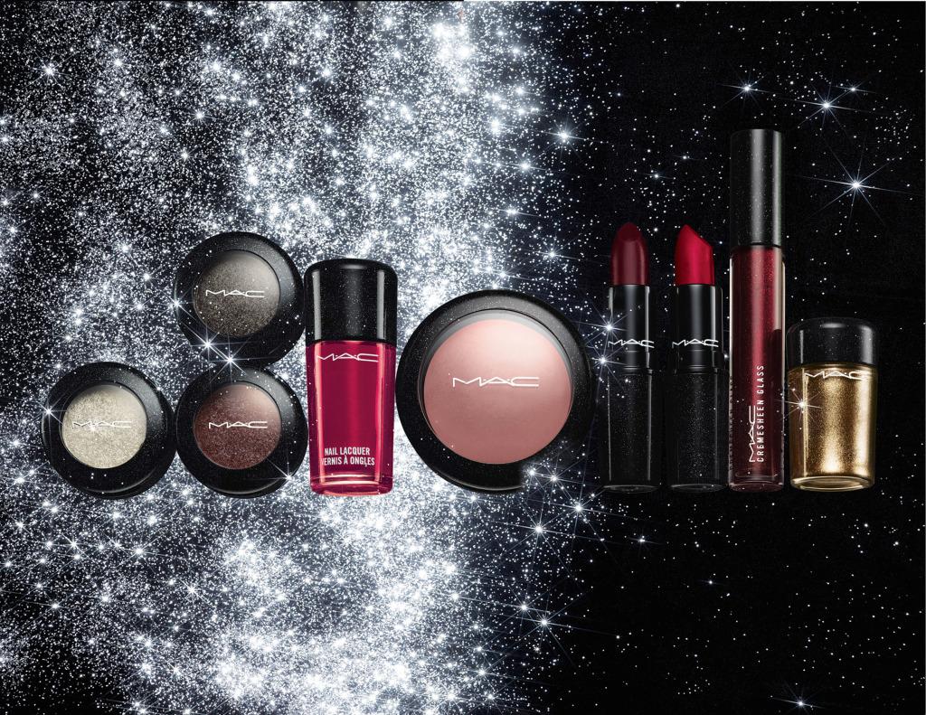 La linea Heirloom Mix di Mac Cosmetics è ricca di prodotti: lipstick, cremesheen glass, pressed pigment, fluidline, eye kohl, kohl power eye pencil, glitter, mineralize blush e nail lacquer dai colori intensi e dall'effetto brillante