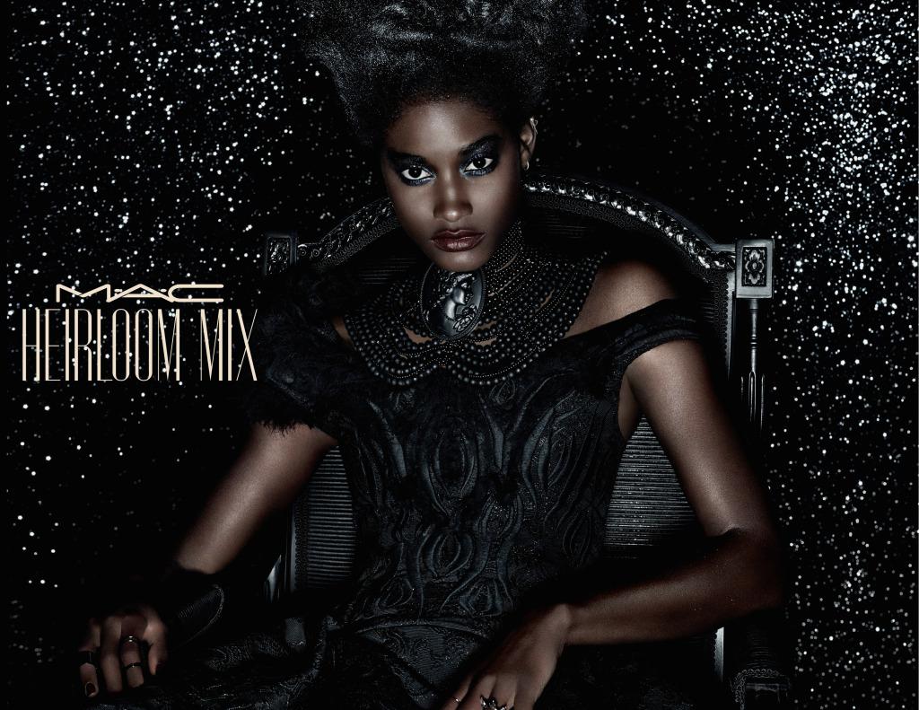Il mood Black Beauty di Heirloom Mix è dato da tonalità scure e scintillanti