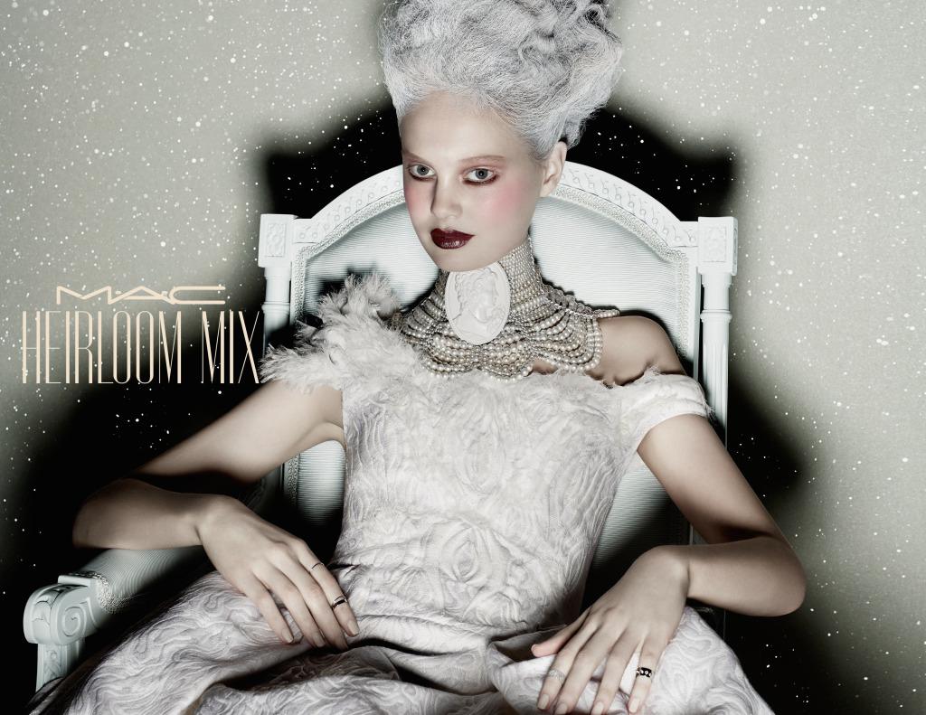 E' uno stile romantico e ribelle quello di Heirloom Mix White Beauty