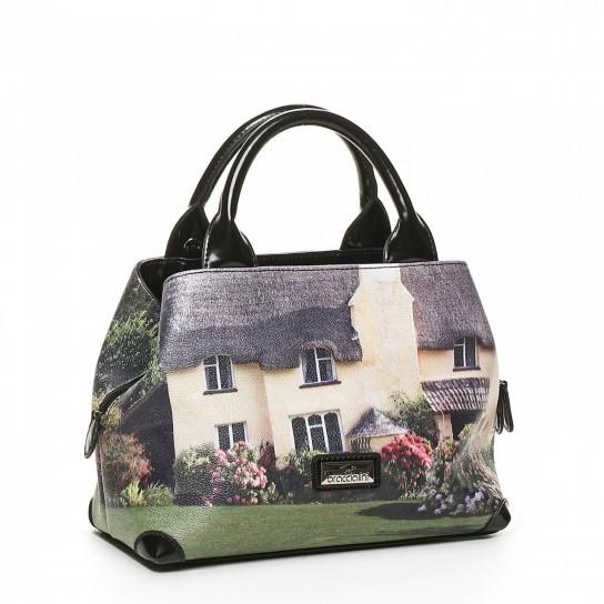 Handbag con stampa