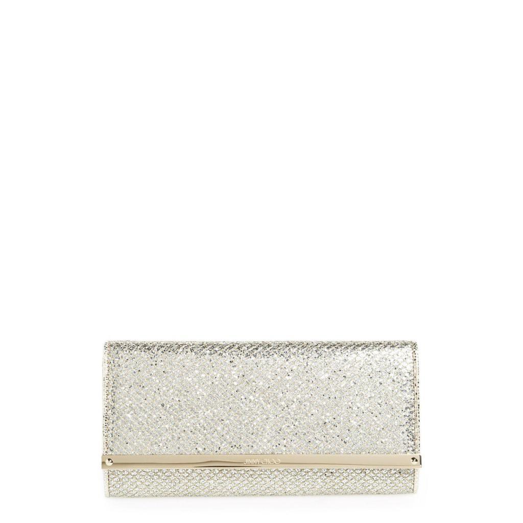 splendida borsa Jimmy Choo glitter modello Milla