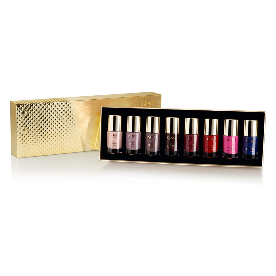 So stylish Nail Laquer set della Haute Punk Collection di Kiko è il regalo ideale per l'amica nail-polish dipendente!