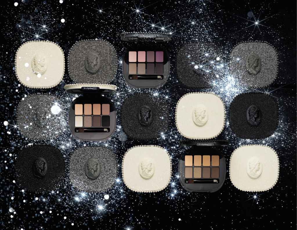 """La linea Keepsakes della collezione Mac Cosmetics Natale 2014 comprende """"raffinati kit per occhi, labbra e viso"""", declinati in un caleidoscopico """"ventaglio di combinazioni cromatiche"""""""