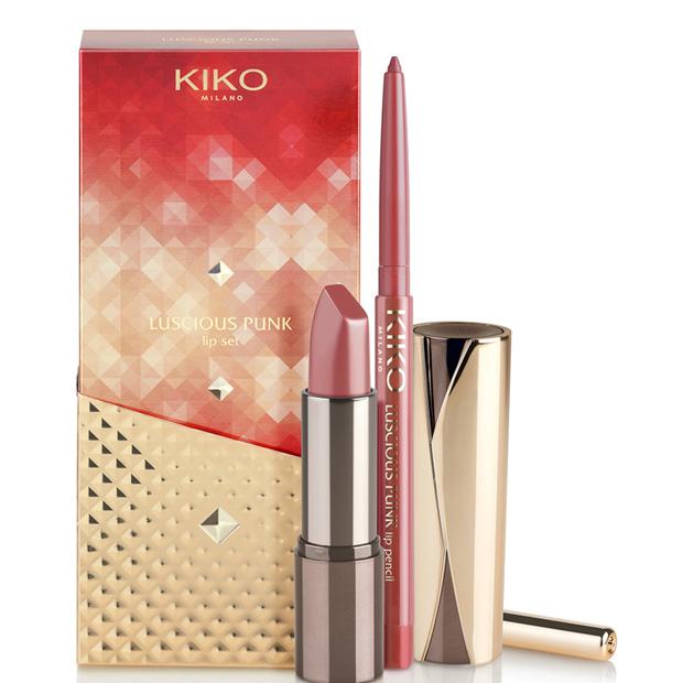 Un rossetto e lip pencil nella confezione Luscious punk lip set. Prezzo 12, 90 euro.
