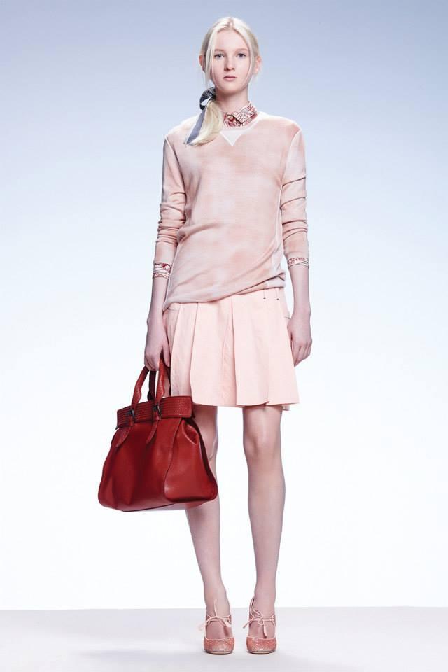 Maxi bag Bottega Veneta / pagina Fb ufficiale