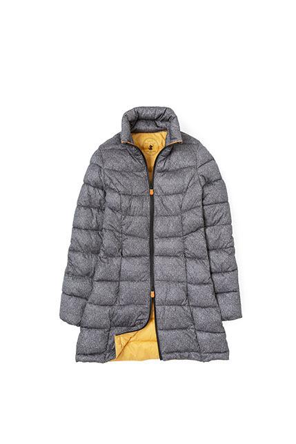Save The Duck grigio con particolari giallo