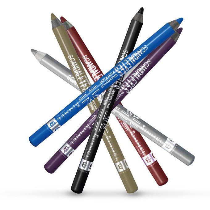 ... uno stile da copiare con Rimmel London ScandalEyes Khol Pencil...