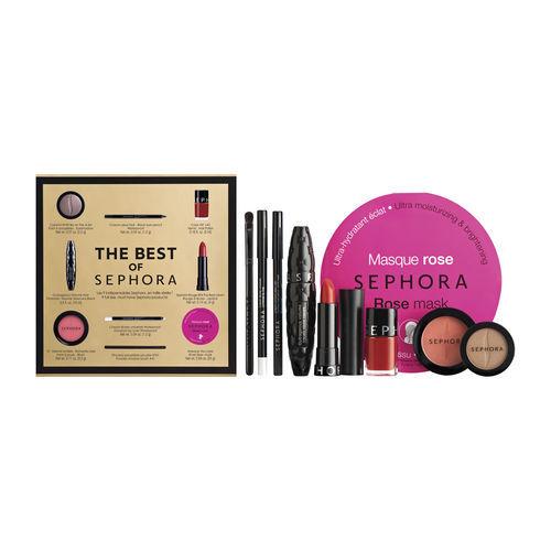 Sephora propone per la prima volta un cofanetto con i best seller di sempre in full size. Prezzo: 40, 00 euro circa