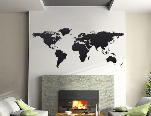 Adesivo murale mappamondo - by Bilderdepot24