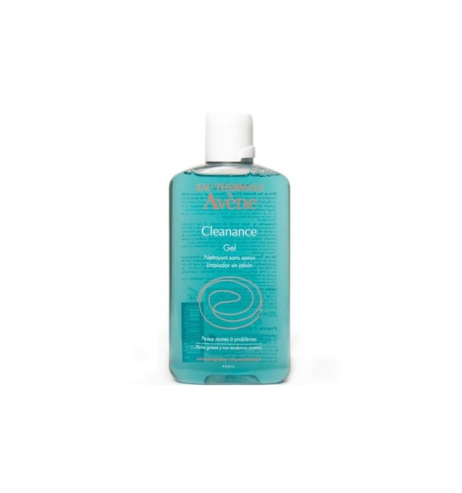 Cleanance Gel Detergente Cleanance Gel Detergente a base di Monolaurina e Acqua Termale Avène è ideale per la pulizia della pelle con tendenza acneica