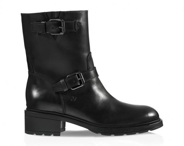 Biker boots neri - Collezione Hogan fall/winter