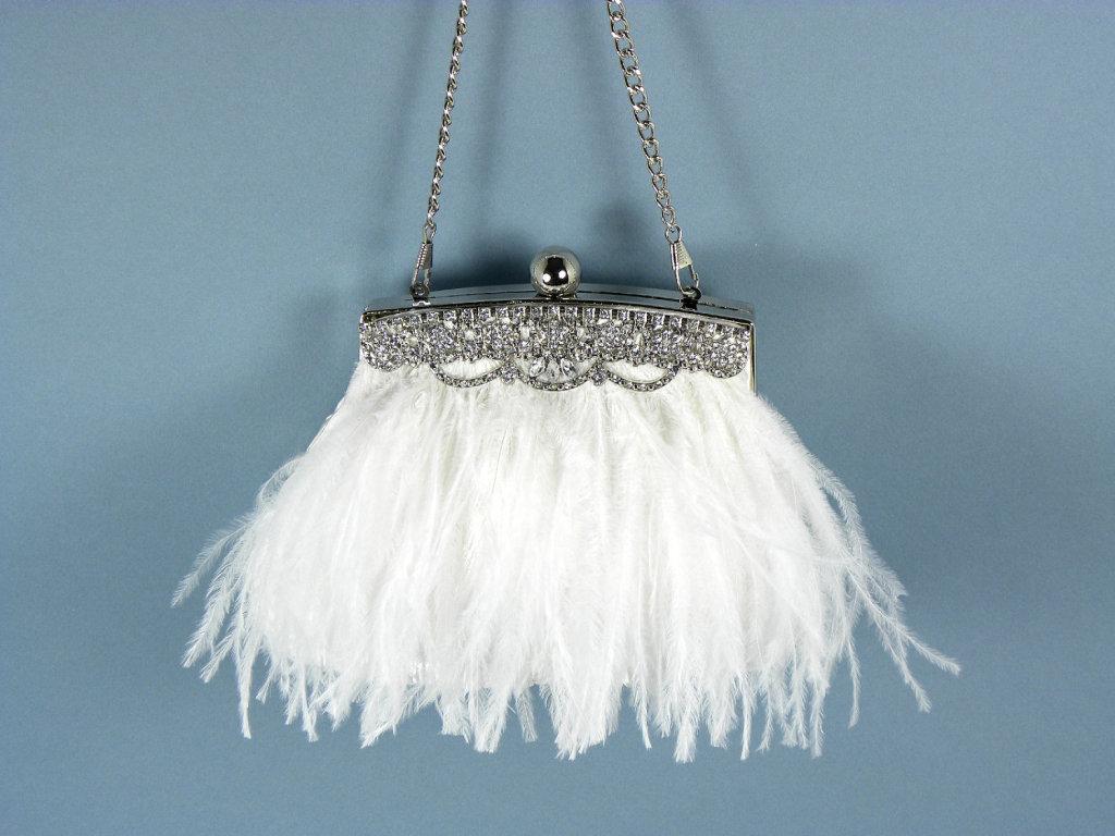 splendida borsa vintage modello charleston, ideale per matrimoni stile retrò
