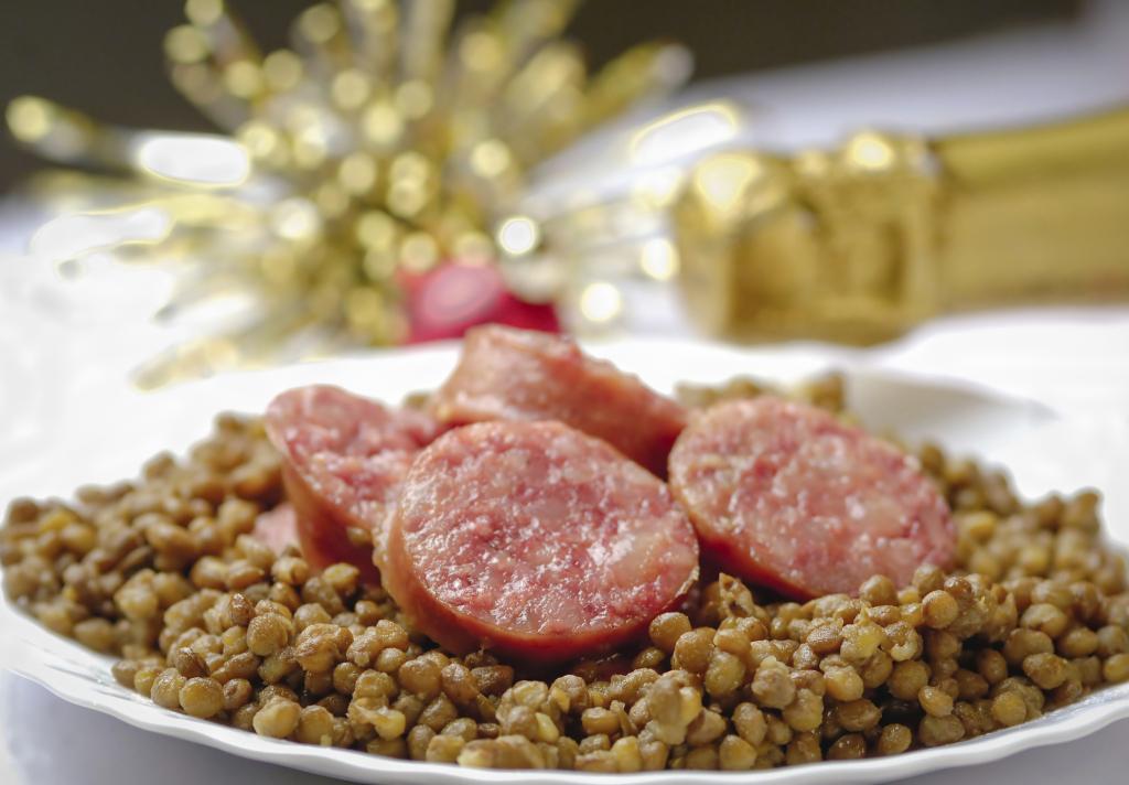 Cotechino con lenticchie ricetta unadonna