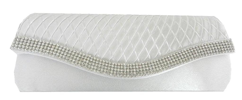 classica borsa sposa con perline e strass per matrimoni molto eleganti