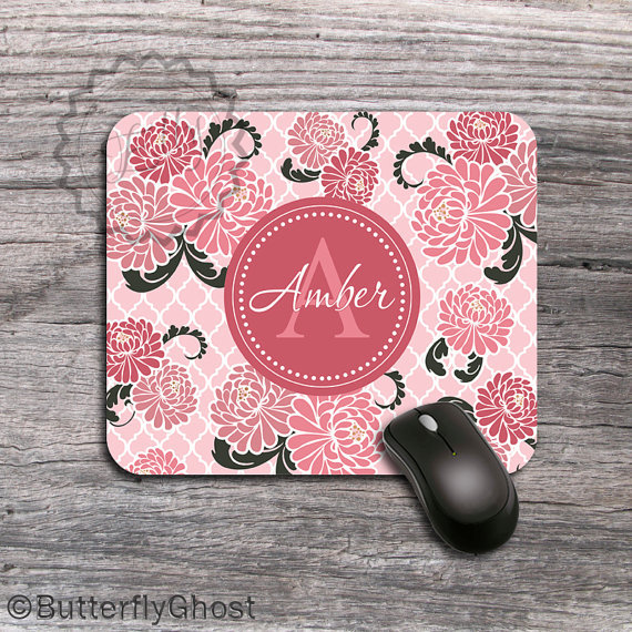 Mouse Pad personalizzabile - Buterfly Ghost -  a 9.49 Euro su Etsy