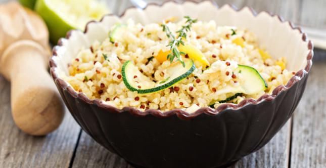insalata di quinoa, ricetta senza glutine