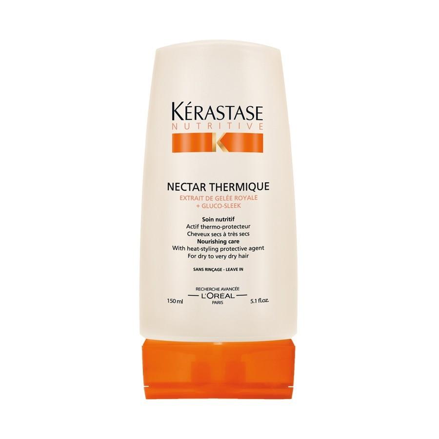 Per capelli neri luminosi e idratati, da Kérastase arriva il termoprotettore Nectar Thermique