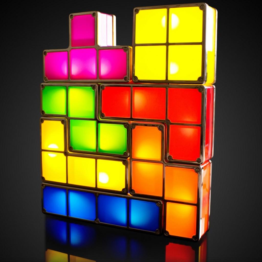Lampada Tetris da camera o soggiorno - by Troppotogo