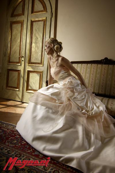Sposa romantica Magnani