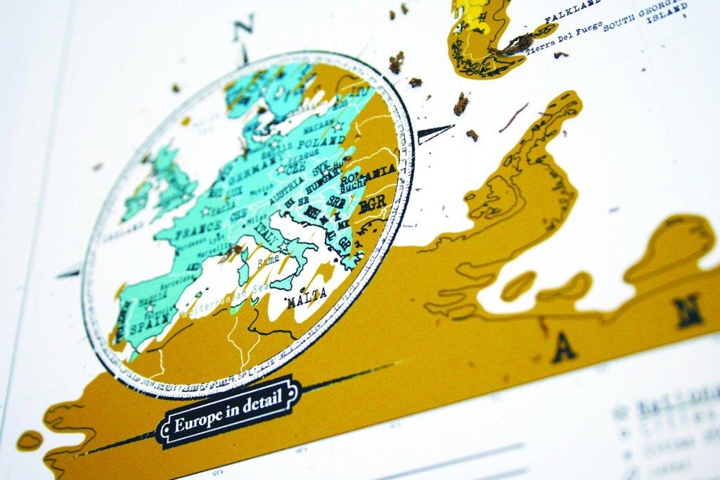 Scratch Map di Eurows