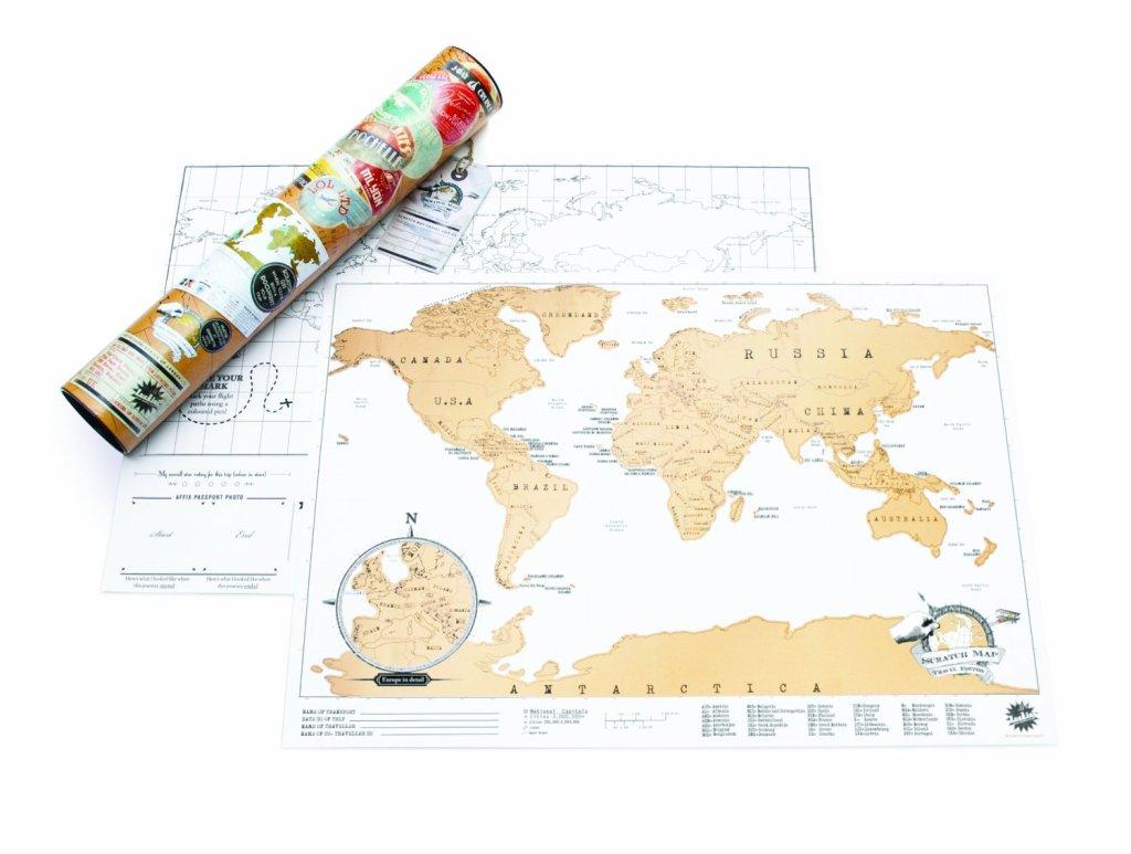 Scratch Map di Eurows - Segna e gratta i posti dove viaggi