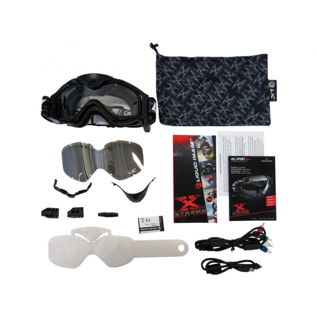 Mascherina con videocamera integrata - Liquid image 384 – All Sport HD