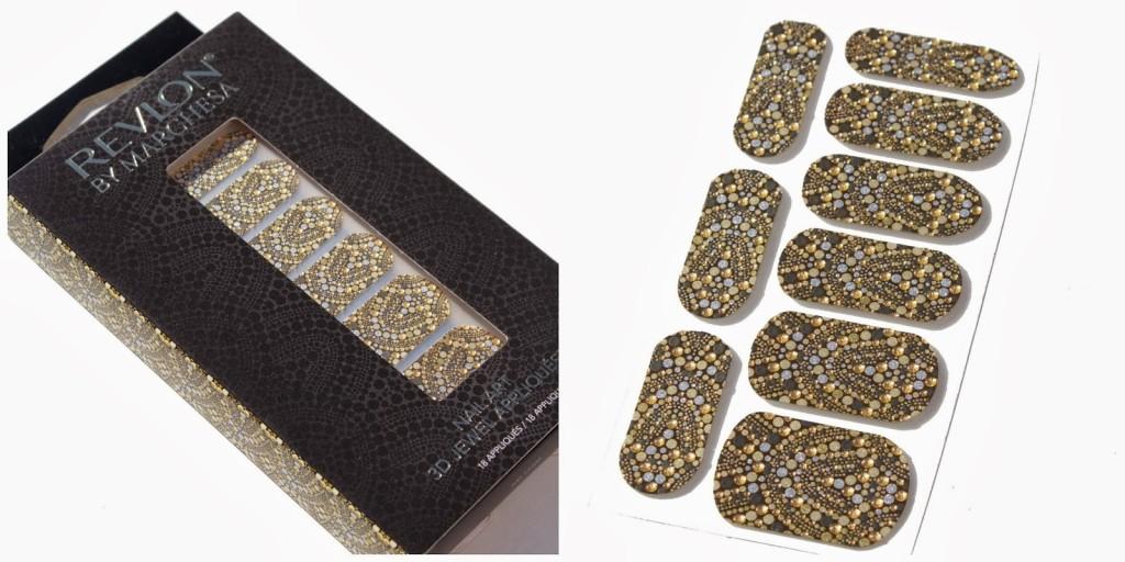 Ispirati ad abiti di alta moda sono invece gli smalti adesivi firmati Revlon by Marchesa, perfetti per chi vuole osare una manicure gioiello senza ricorrere a gel o semipermanenti, questi nail patch si applicano sulle unghie e si rimuovono naturalmente anche senza solvente.