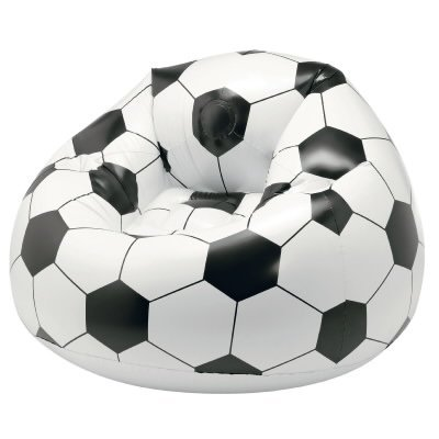 Poltrona puf pallone di Relaxdays