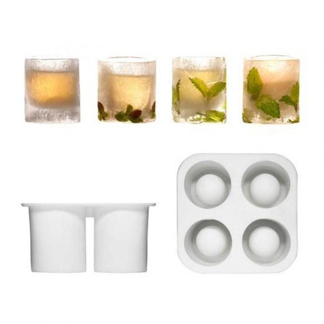 Bicchierini per il ghiaccio Cool Shooter - Stampi in silicone - su Troppotogo a 8.95 Euro