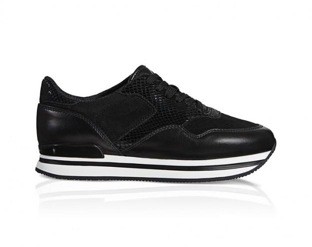 Sneakers bianche e nere - Collezione Hogan fall/winter