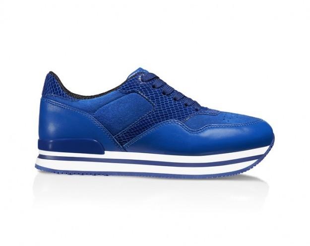 Sneakers blu elettrico - Collezione Hogan fall/winter