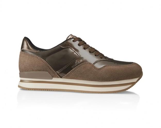 Sneakers in camoscio marrone - Collezione Hogan fall/winter