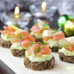 Tartine salmone avocado