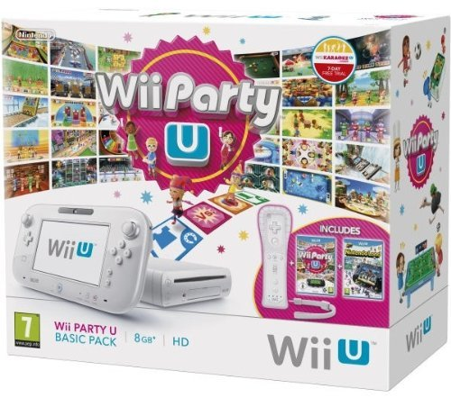 Console Wii Party U Basic Pack - by Nintendo