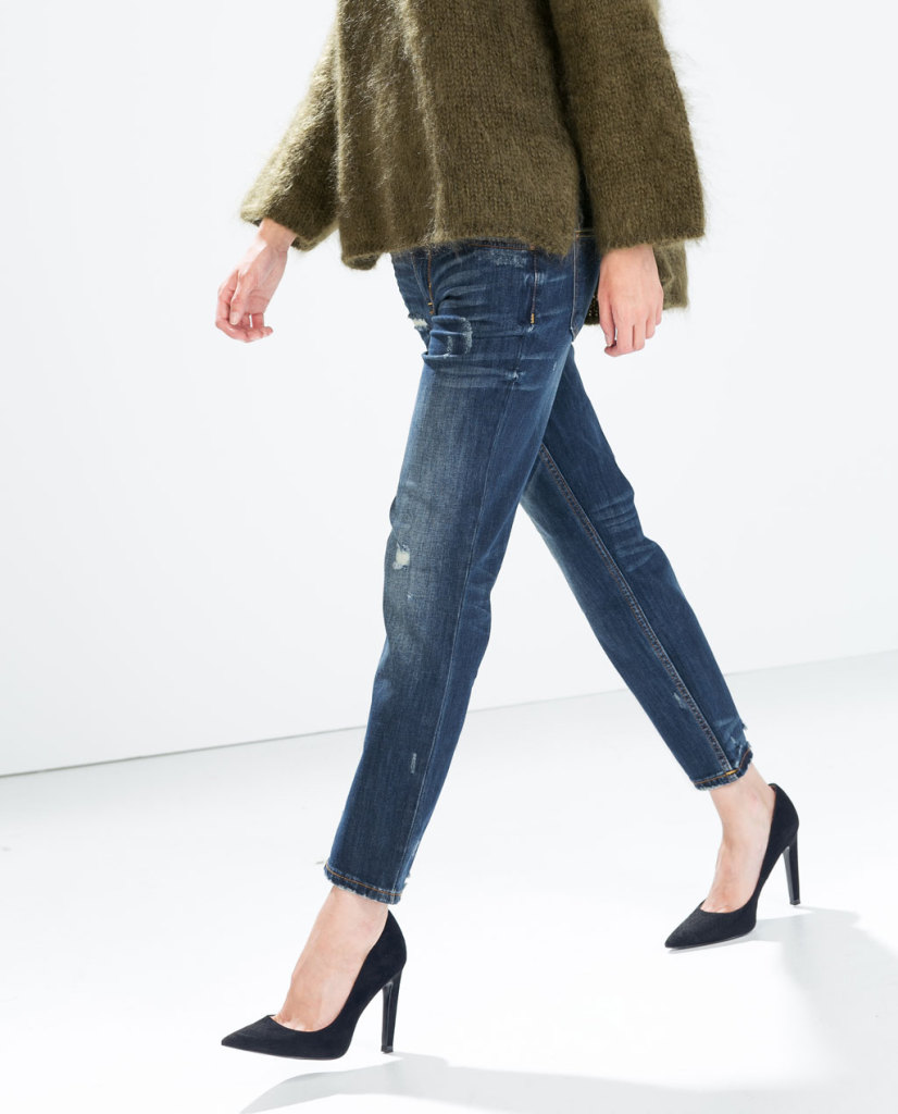 Relaxed fit per i jeans Zara