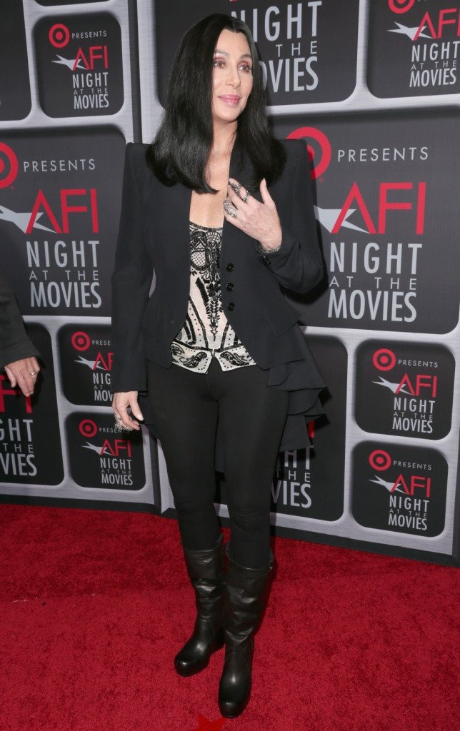 Cher all'evento AFI's Night, Hollywood, nel 2013.