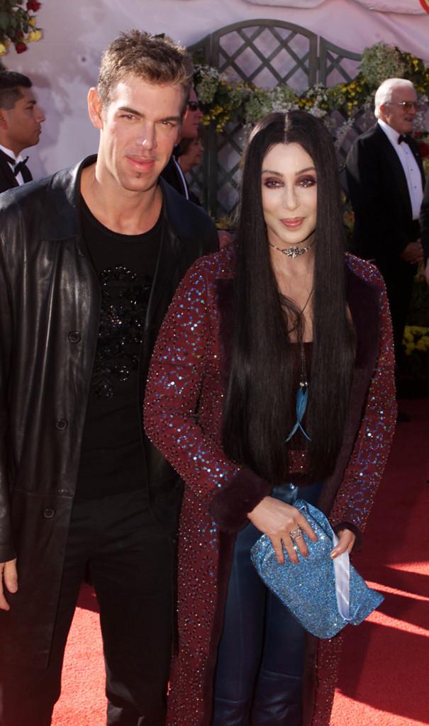 Alla 52sima edizione degli Emmy Awards (2000) con il make up artist Kevin Aucoin.
