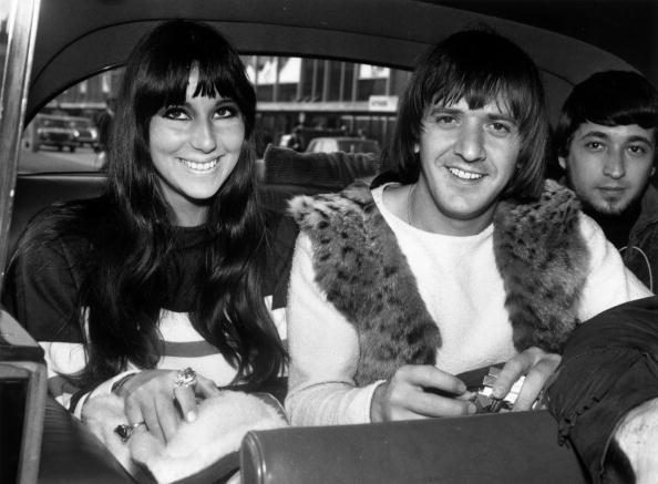 Sonny e Cher in visita a Londra nell'agosto del 1965.