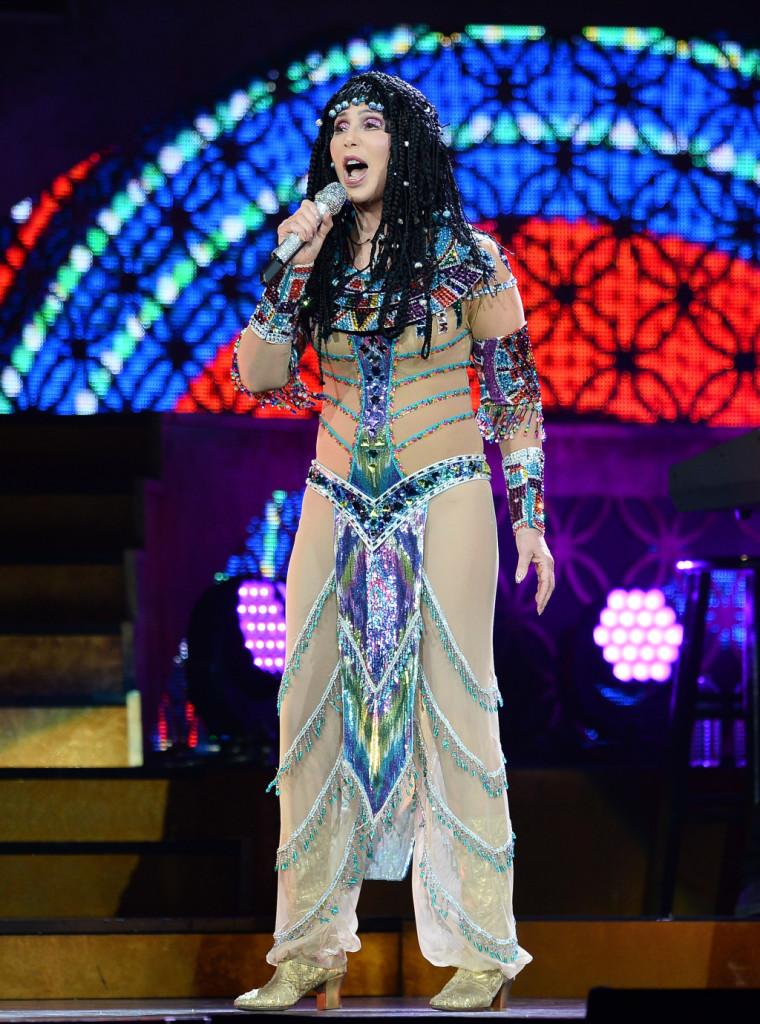 Cher in una tappa del suo