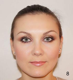 Il make up è completo per un risultato radioso