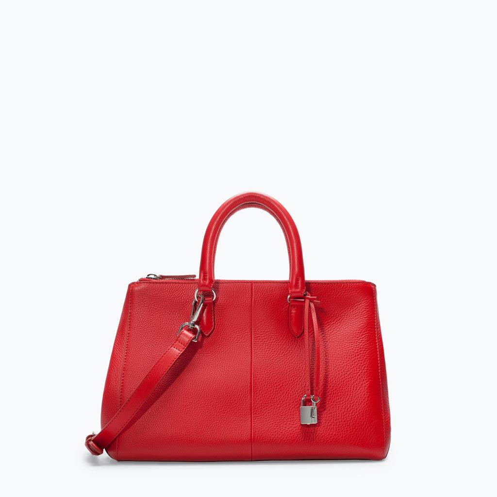 ZARA_Handbag rossa