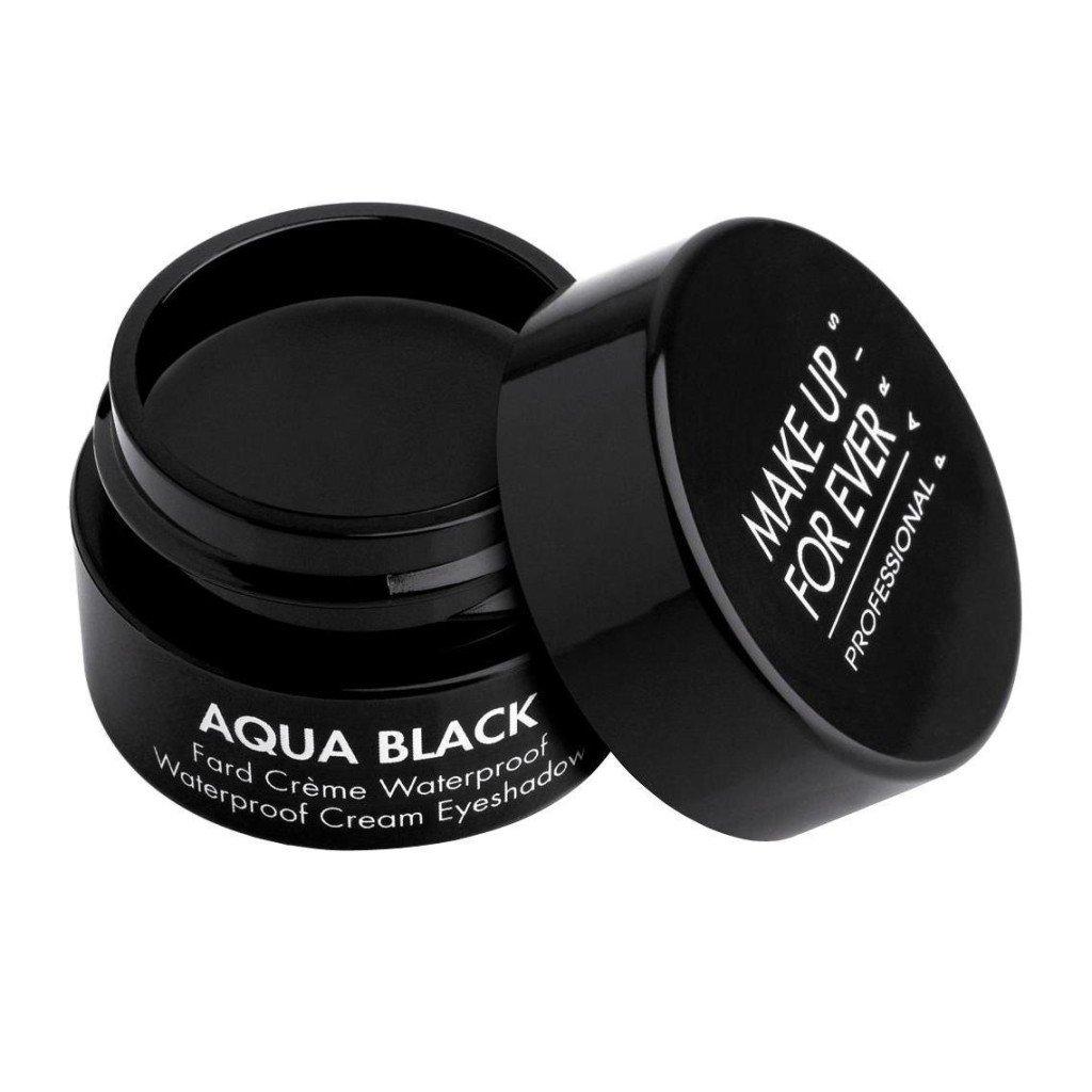 Make Up Forever Aqua Black Waterproof Cream Eyeshadow
