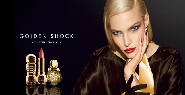Golden Shock: collezione Dior Natale 2014